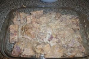 курица в соусе