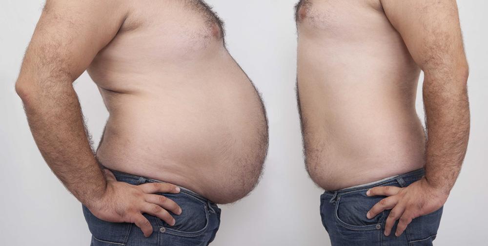 как убрать жир пояснице мужчине