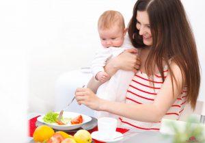подходит диета кормящей маме какая
