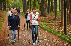 Скандинавская ходьба 2 Скандинавская ходьба: в чем польза, как заниматься