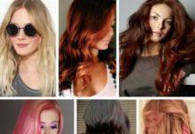 Модное окрашивание волос