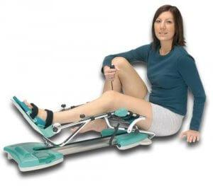упражнения на колене