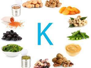 K Витамин К   в чем польза для здоровья, где содержится