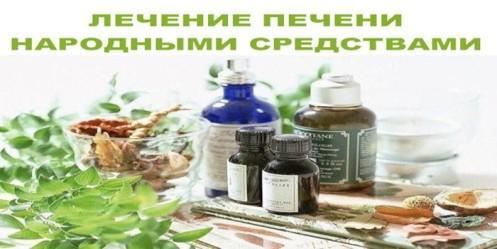 Лечение печени народными средствами – полезные рецепты