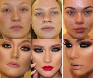 Как делать макияж  - секреты от стилистов, правила нанесения