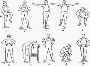 Гимнастика для сосудов